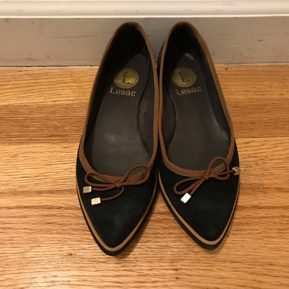 lesac Shoes - New without tags Black Suede Flats